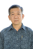 Senior asian businessman Royalty Free Stock Photography