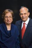 Senior Asian couple stock photo