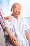Senior asian healthcare Royalty Free Stock Images