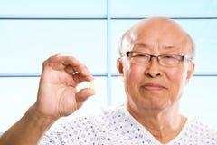 Senior asian healthcare Stock Image