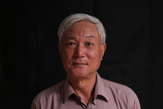 Senior Asian man Royalty Free Stock Images