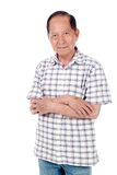 Senior Asian Man Royalty Free Stock Images