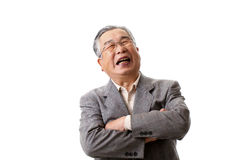 Senior Asian Royalty Free Stock Images