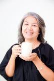Senior asian woman Stock Photo