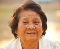 Senior Asian Woman Royalty Free Stock Image