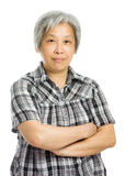 Senior asian woman Stock Images