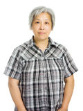 Senior asian woman Royalty Free Stock Photos