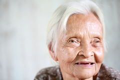 Senior asian woman Stock Photography