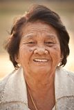Senior Asian Woman Stock Photo