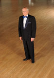 Senior ballroom dancer Stock Photos