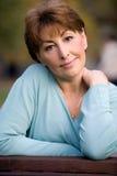 Senior beauty Stock Image