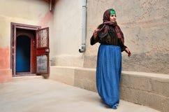 Senior berber woman Stock Images