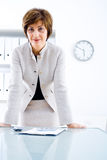 senior bizneswomanu Obraz Royalty Free