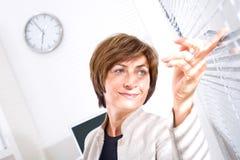 senior bizneswomanu Obraz Stock