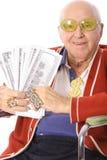 Senior bling vertical Stock Image