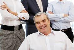 Senior boss Stock Images
