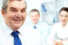 Senior boss Stock Photos