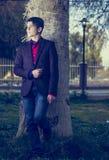 Senior boy Standing Stock Photography