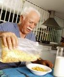 Senior breakfast. Royalty Free Stock Photo