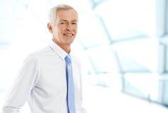 Senior broker Stock Images