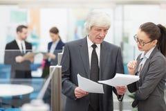 Senior Business Executive royalty free stock photography