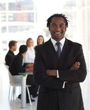 Senior business leader Royalty Free Stock Photo