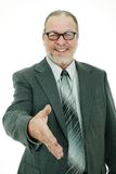 Senior business man Royalty Free Stock Photos