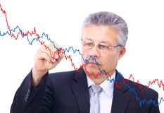 Senior business man Stock Photography