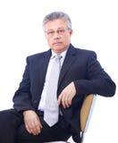 Senior business man Stock Photography
