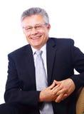 Senior business man Stock Images