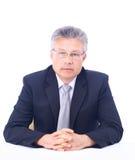 Senior business man Stock Photo