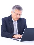 Senior business man Royalty Free Stock Photography