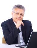 Senior business man Royalty Free Stock Photo
