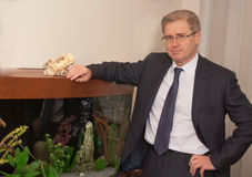 Senior business man Royalty Free Stock Photos