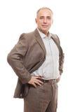 Senior business man Royalty Free Stock Images