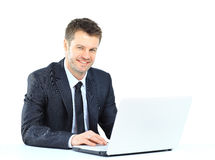 Senior business man Royalty Free Stock Image