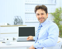Senior business man Stock Image