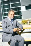 Senior business man Royalty Free Stock Photography