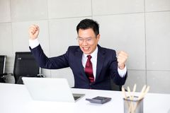 Senior business man asia with Business Group Meeting Discussion Strategy Working Concept royalty free stock photography