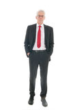 Senior business man Stock Images