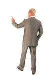Senior business man giving presentation Stock Image