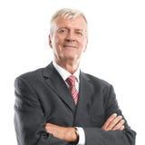 Senior business man Stock Photos
