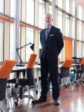 Senior business man portrait Royalty Free Stock Image