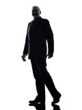 Senior business man silhouette Stock Photography