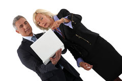 Senior business partners Royalty Free Stock Photography