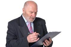 Senior business person Stock Photos
