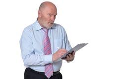 Senior business person Stock Image