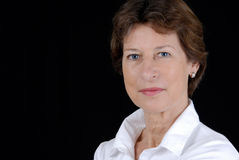 Senior business woman Royalty Free Stock Photo