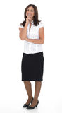Senior business woman Stock Image