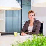 Senior business woman Stock Photo